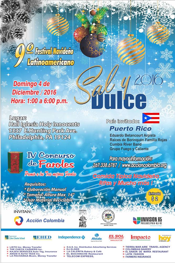 Festival de Navidad para la comunidad latina en Filadelfia